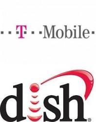 Logos von T-Mobile und Dish