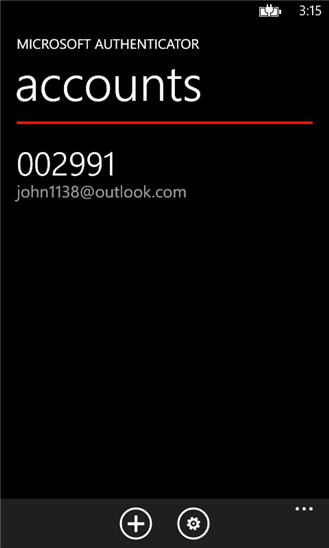 Screenshot von Microsoft Authenticator (Bild: News.com)