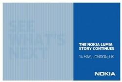Nokia-Einladung zu Lumia-Event