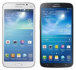 Galaxy Mega 5.8 (links) und Galaxy Mega 6.3 (Bild: Samsung)