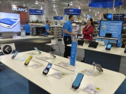 Samsung Store in Best-Buy-Filiale (Bild: News.com)