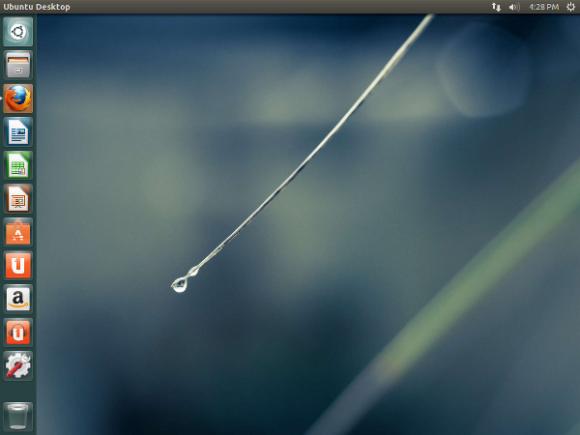 Der Unity-Desktop von Ubuntu 13.04 (Screenshot: Steven J. Vaughan-Nichols/ZDNet)