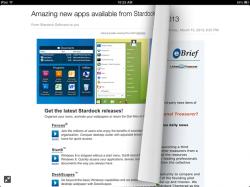 Neue Version von Yahoo Mail auf dem iPad (Bild: Yahoo)