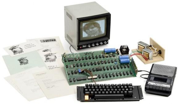 Dieses Apple-1-Set wurde am 25. Mai für 516.461 Euro versteigert (Bild: Breker).