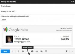 Bezahlen per Gmail (Screenshot: Google)