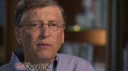 Bill Gates bei 60 Minutes (Screenshot: News.com)