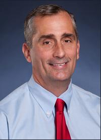 CEO Brian Krzanich (Bild: Intel)