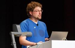 Chrome-Entwickler Rick Byers auf der Google I/O (Bild: Stephen Shankland/CNET)