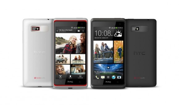 The Desire 600 allows the simultaneous use of two SIM cards (image: HTC).