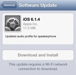 iOS 6.1.4 (Bild: CNET)
