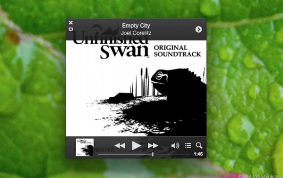 MiniPlayer von iTunes 11.0.3