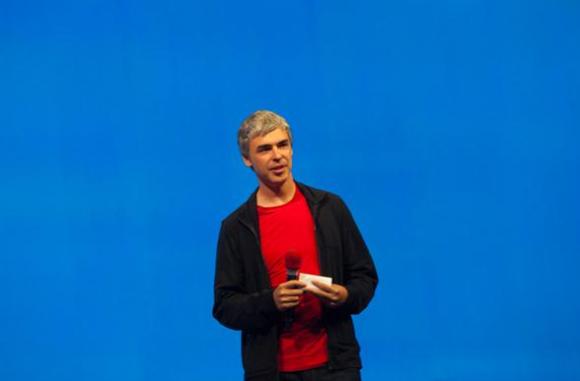 Google-CEO Larry Page (Bild: James Martin / CNET.com)
