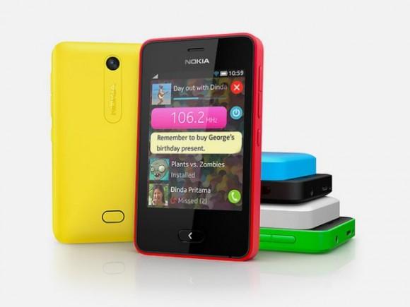 Das Asha 501 ist Nokias erstes Billig-Smartphone mit dem neuen OS Asha (Bild: Nokia).