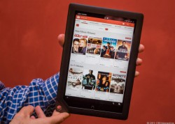 Google Video auf Nook HD (Bild: CNET)