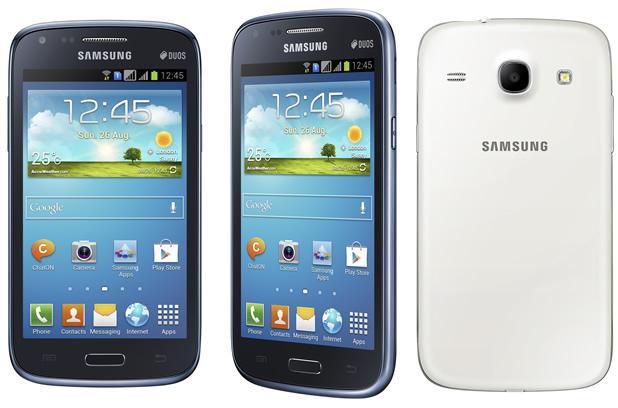 Mit zwei SIM-Slots erhältlich: Samsung Galaxy Core