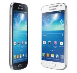 Das Galaxy S4 Mini ist eine geschrumpfte und abgespeckte Variante des Standard-S4 (Bild: Samsung).