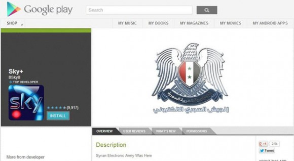 Syrische Aktivisten hacken Sky-Apps
