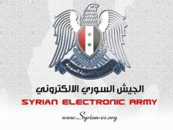(Wappen: Syrian Electronic Army)
