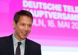 Telekom-Vorstand René Obermann auf der Hauptversammlung in Köln (Bild: Telekom).