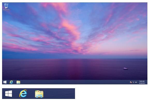 Startbutton in einer Vorabversion von Windows Blue (Screenshot: Paul Thurrott)