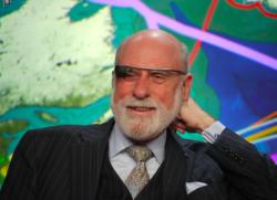 Vint Cerf mit Google Glass (Bild: Dan Farber)
