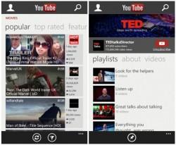 Microsofts neue Youtube-App für Windows Phone 8 (Bild: Microsoft)