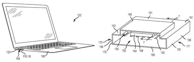 Apple-Patentantrag auf Kombi-Anschluss (Bild: via USPTO)