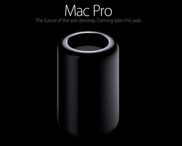 Der neue Mac Pro hat außer dem Namen mit dem Vorgänger nichts mehr gemein (Bild: Apple).