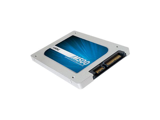 Die M500 von Crucial ist mit Kapazitäten von 128 bis 980 GByte erhältlich.