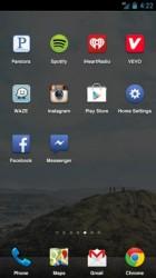 Facebook Home mit Dock