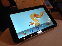 Tablet mit Firefox OS