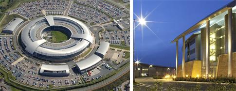 GCHQ Hauptquartier in Gloucestershire (Bild: GCHQ)