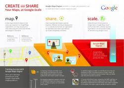 Infografik zu Googles Maps Engine (Bild: Google)