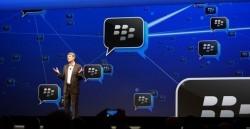 Blackberry-CEO Thorsten Heins bei einer Präsentation (Bild: ZDNet.com)