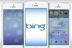 Unter iOS 7 nutzt Siri standardmäßig Microsofts Suchmaschine Bing (Bild: Apple).
