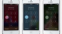 Wie erwartet arbeitet iOS 7 viel mit Schwarz und Weiß – aber eben nicht ausschließlich (Screenshot: Gizmodo.de).