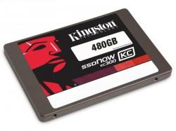 Die KC300-SSDs bieten bis zu 480 GByte Speicherplatz (Bild: Kingston).