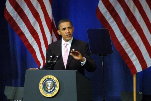 US-Präsident Barack Obama (Bild: Martin LaMonica / CNET)