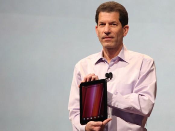 Jon Rubinstein 2011 bei der Vorstellung eines Tablets mit WebOS (Bild: James Martin / CNET)