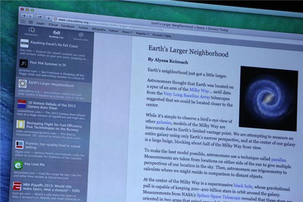 Vorstellung von Safari 7 auf der Apple WWDC 2013 (Bild: News.com)