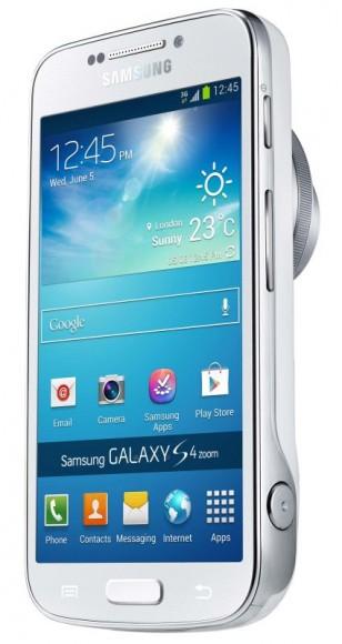 Das Galaxy S4 Zoom ist ein Hybrid aus Smartphone und Kompaktkamera (Bild: Samsung).