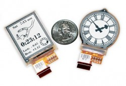 Smart-Watch-Displays von E-Ink