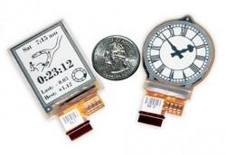 Smart-Watch-Displays von E-Ink
