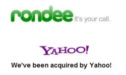Yahoo kauft Konferenzdienst Rondee