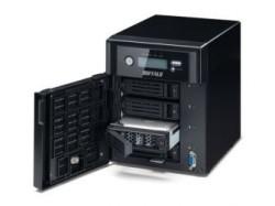 Die TeraStation S4400D kann mit bis zu vier Festplatten bestückt werden (Bild: Buffalo).