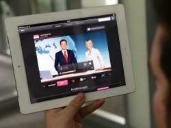 Entertain to go auf dem iPad (Bild: Telekom)