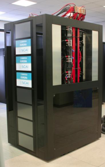 Eurora ist der aktuell energieeffizienteste Supercomputer (Bild: Cineca).