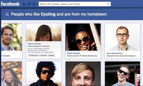 In den USA steht Graph Search ab sofort zur Verfügung (Bild: Facebook).