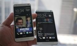 Wie hier bei der Vorgängergeneration dürfte sich das One Mini 2 äußerlich kaum vom großen Bruder HTC One 2 unterscheiden (Bild: Brian Bennett/CNET).