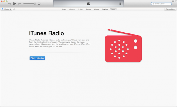 "iTunes 11.1 integriert den Musik-Streamingdienst iTunes Radio (Bild <a href=""http://9to5mac.com/2013/07/29/apple-releases-itunes-11-1-beta-to-developers-with-itunes-radio/"" target=""_blank"">via 9to5Mac</a>)."